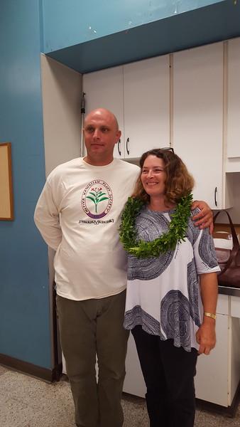 Tamara Sherrill and her husband Erik Nelson (Photo by Elena Newhouse)