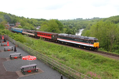47828 on the 0935 Bridgnorth to Kidderminster at Highley on the 20th May 2017 1