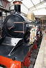 A third view of replica GWR Dean Single 4-2-2 3041 'The Queen' entombed at Windsor & Eton Central on 12th November 2011. The replica was constructed at Steamtown, Carnforth; the original 3041 was withdrawn by the GWR in 1912.