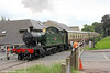 GWR 2-6-2T no. 5541 crosses the B4231 at Lydney with the 1400 for Parkend on 18th September 2016.
