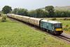 E6036 (73129) returns through Dixton with 2T70, 1530 Cheltenham Racecourse to Toddington on 27th July 2013.