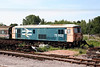 Another view of the DFR's class 73 electro-diesel no. 73002 at Lydney Junction on 14th June 2008.