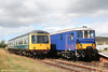 The P&BR's class 108 dmu and 73133 line up at Furnace Sidings on 27th August 2006.