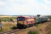 73128 departs from Furnace Sidings with the 1420 for Whistle Inn on 26th July 2008.