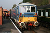 SVR class 73 no. E6006 at Bewdley at the head of a local service for Kidderminster on 15th October 2005.