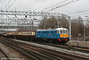 Another view of 86259 at Crewe with the return 'Les Ross's Day Tripper' to Birmingham on 1st March 2008.