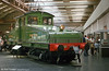 1905-built North Eastern Railway class ES1 Bo-Bo electric no.1 at the National Railway Museum, York.
