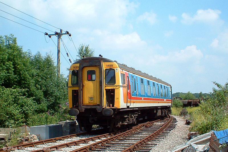 3-Cig unit 1499 at Lydney Junction on 9th July 2005.