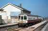Another view of Park Royal class 103 dmu at Williton, WSR on 5th April 1980. These units date from 1957.