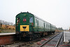 The P&BR's 'Hampshire' demu waits at the platform at Furnace Sidings on 20th December 2008.