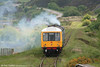 Car W52044 of the Pontypool & Blaenavon Railway's class 108 dmu leads uphill towards Whistle Inn Halt on 4th June 2006.