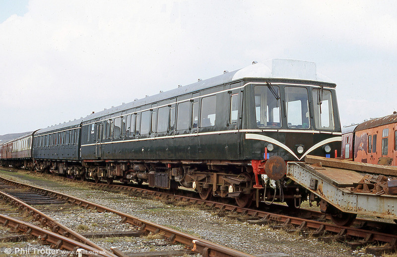 The P&BR's class 117 at Furnace Sidings in May 2005.