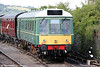 Class 121 'Bubble Car' W55023 stabled at Chinnor on 4th August 2013.