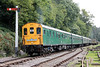 'Hastings' demu no. 1001 approaches Parkend, DFR forming the 1340 from Lydney Town on 15th September 2012.