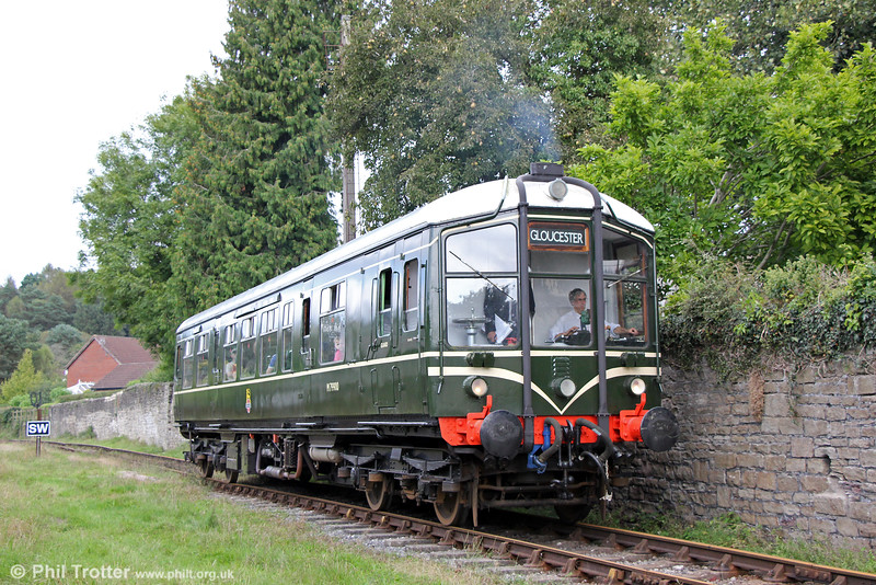 Derby Lightweight M79900 at Whitecroft, DFR forming the 1240 from Parkend on 18th September 2016.