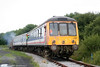 The L&MMR's class 117 dmu on the running line at Cynheidre on 11th July 2010.