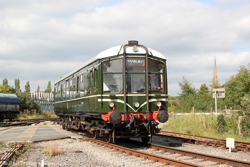 Derby Lightweight M79900 at Lydney Junction on 18th September 2016.