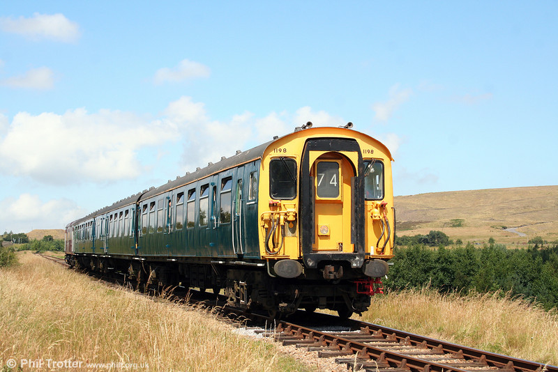 3-Cep 1198 forms the 1240 Whistle Inn to Furnace Sidings, P&BR, on 26th July 2008.
