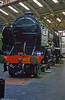 'Schools' class 4-4-0 no. 925 'Cheltenham' seen at the National Railway Museum, York.