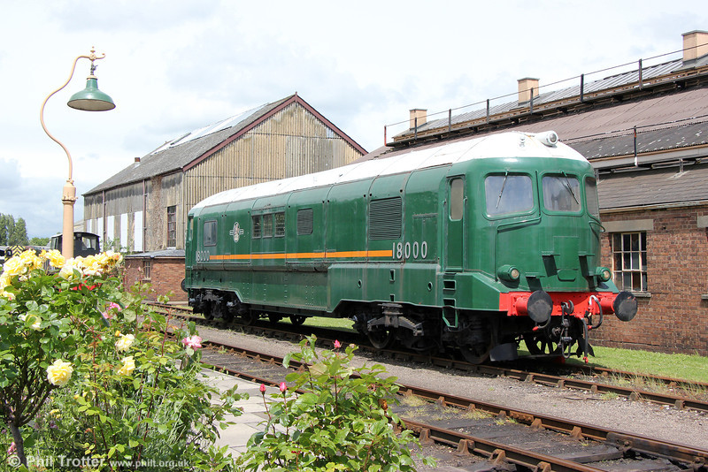 1949 WR gas turbine prototype no. 18000 at Didcot on 24th May 2014.
