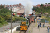 D9521 puts on a display for photographers at Barry Island on 26th August 2007.