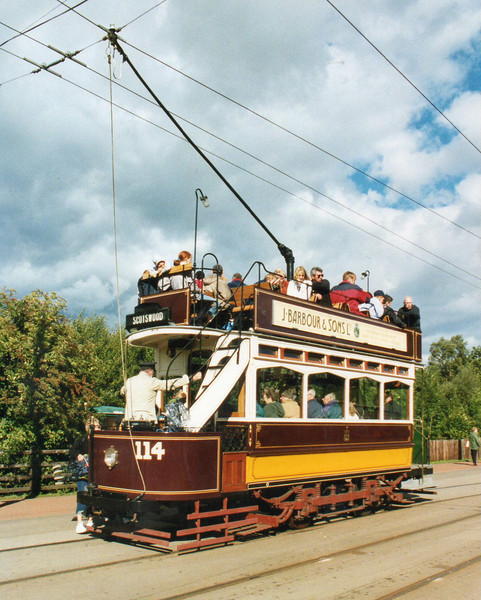 c) tram 114(ex Newcastle) Beamish 8-9-01