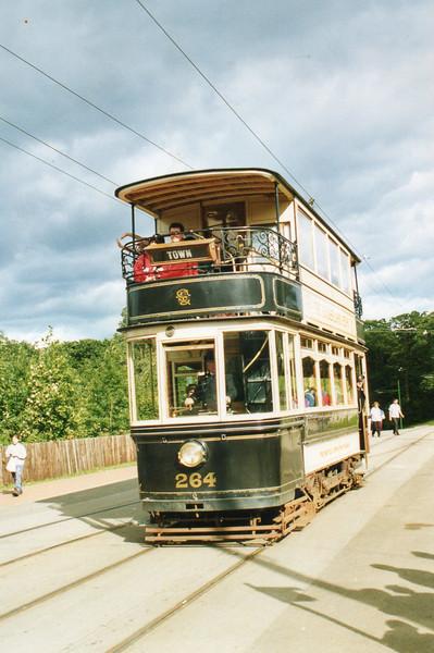 c) tram 264(ex Sheffield) Beamish 8-9-01