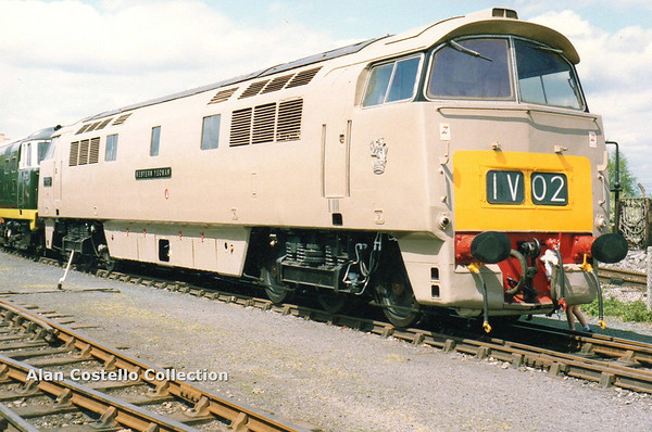 D1010 as D1035 Western Yeoman Didcot 7-5-90