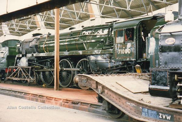 f) 71000 Duke of Gloucester Didcot 7-5-90