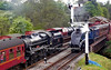 60007 Sir Nigel Gresley & 44767 Goerge Stephenson  Goathland 8-5-11