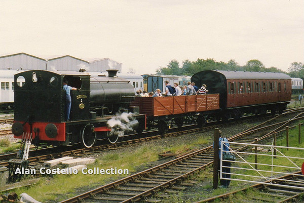 Pecket(2087) Gibraltar (rebuilt at Courtolds Preston with parts from scrapped sister engine No  2086) 2