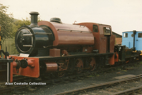 Yorkshire Engine Co  0-6-0ST No  2498 Chislet