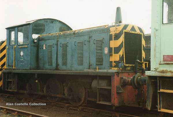 (British Rail Class 04) D2229 South Yorkshire Railway Meadowhall 27-4-96