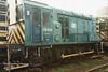 (British Rail Class 08) 08936 South Yorkshire Railway Meadowhall 27-4-96