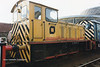 (British Rail Class 04) D2302 South Yorkshire Railway Meadowhall 27-4-96