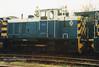 (British Rail Class 07) 07012 South Yorkshire Railway Meadowhall 27-4-96