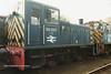 (British Rail Class 03) 03037 South Yorkshire Railway Meadowhall 27-4-96