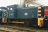 (British Rail Class 06) 06003 South Yorkshire Railway Meadowhall 27-4-96