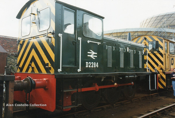 (British Rail Class 04) D2284 South Yorkshire Railway Meadowhall 27-4-96