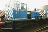 (British Rail Class 03) D2134 South Yorkshire Railway Meadowhall 27-4-96