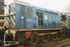 (British Rail Class 08) 08113 South Yorkshire Railway Meadowhall 27-4-96