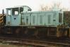 (British Rail Class 04) D2324 South Yorkshire Railway Meadowhall 27-4-96