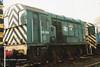 (British Rail Class 08) 08308 South Yorkshire Railway Meadowhall 27-4-96