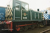 (British Rail Class 03) D2199 South Yorkshire Railway Meadowhall 27-4-96
