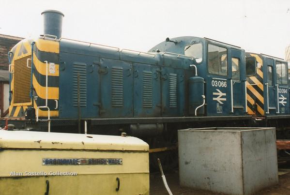 (British Rail Class 03) 03066 South Yorkshire Railway Meadowhall 27-4-96