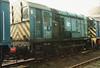 (British Rail Class 08) 08507 South Yorkshire Railway Meadowhall 27-4-96