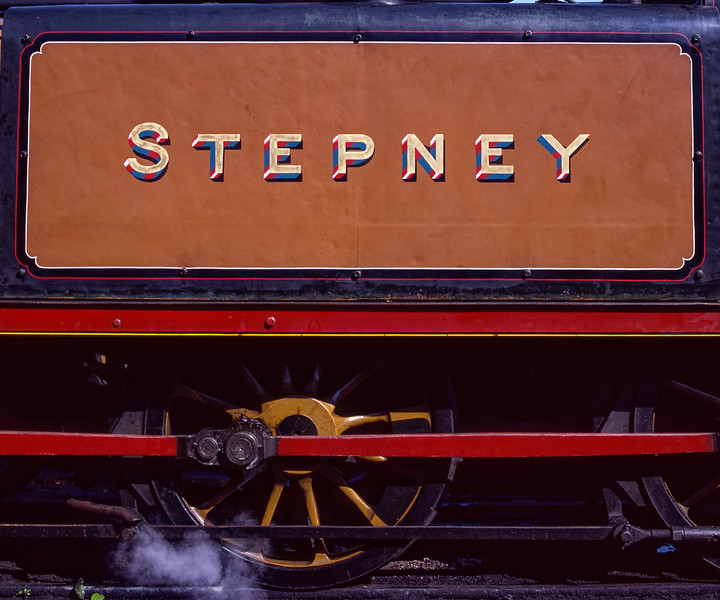 """Stepney"" at Sheffield Park, on 3rd September 2004."