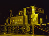 LB&SCR No. 672 under the yard lights at Sheffield Park, during the Branch Line Weekend <br /> on 22nd February 2003.