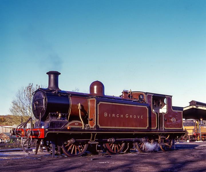 "E4 class No. 473 ""Birch Grove"" at Sheffield Park, on 13th November 2004."