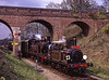 LB&SCR No. 672 and E4 class No. 473 at Three Arch Bridge <br /> with the 15:32 Kingscote - Sheffield Park, on 12th April 2004.